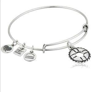 *2/35* NWT Alex and Ani Life Preserver Bracelet